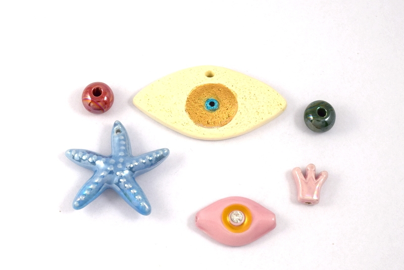 Χάντρες-Κεραμικά