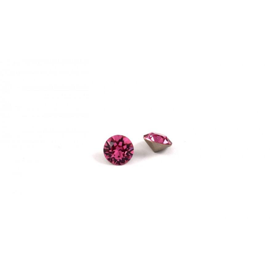 Κρύσταλλο κωνικό SWAROVSKI SS39(~~8.16-8.41mm) σε ροζ  χρώμα τιμή ανα τεμάχιο
