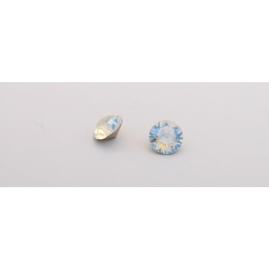 Κρύσταλλο κωνικό SWAROVSKI SS39(~~8.16-8.41mm) σε Crystal Moonlight  χρώμα τιμή ανα τεμάχιο