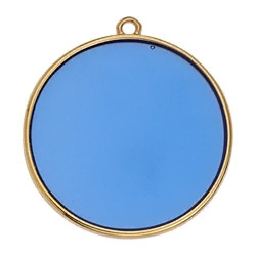 Κύκλος περίγραμμα Bιτρω μπλε 30mm κρεμαστό - τιμή ανά τεμάχιο