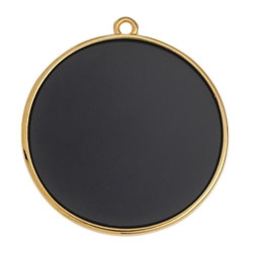 Κύκλος περίγραμμα Bιτρω μαύρο 30mm κρεμαστό - τιμή ανά τεμάχιο