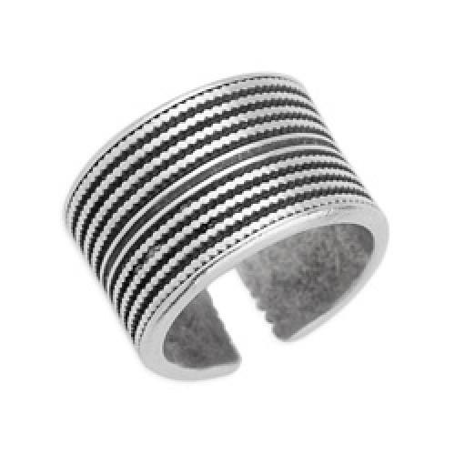 Δαχτυλίδι έθνικ σε ασημί αντικέ - τιμή ανά τεμάχιο