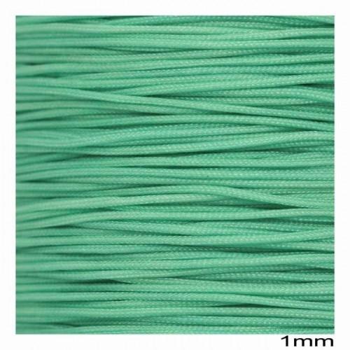 Κορδόνι μακραμέ Ματ σε βεραμαν χρώμα 1mm κατάλληλο για πλεξιματα-μακραμέ Τιμή ανα μέτρο