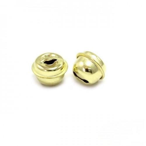 Κουδούνι στρογγυλό 13mm σε χρυσαφί-ανα τεμάχιο