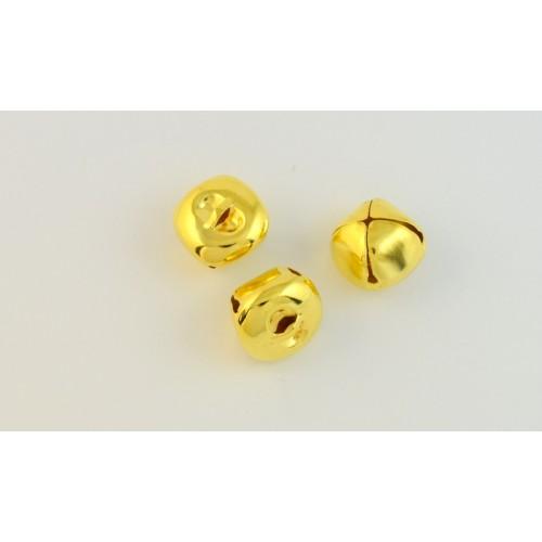 Κουδουνάκι μεγάλο 25mm σε χρυσαφί τιμή ανα τεμάχιο