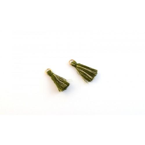 Φουντίτσα χρυσοκλωστή-λαδί ανα τεμάχιο