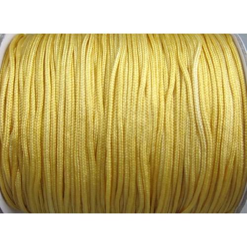 Κορδόνι σε χρυσό χρώμα 1mm κατάλληλο για πλεξιματα-μακραμέ Τιμή ανα μέτρο