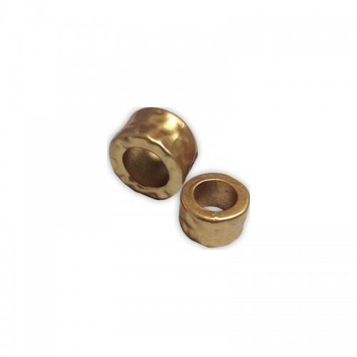 Ακρυλικό Στοιχείο Κρίκος Σφυρήλατος 25x15mm (Ø15mm) - τιμή ανά τεμάχιο