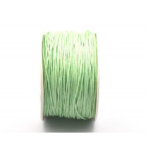 Κηρόσπαγγος βαμβακερός 1mm σε φυστικί χρώμα - τιμή ανα μέτρο
