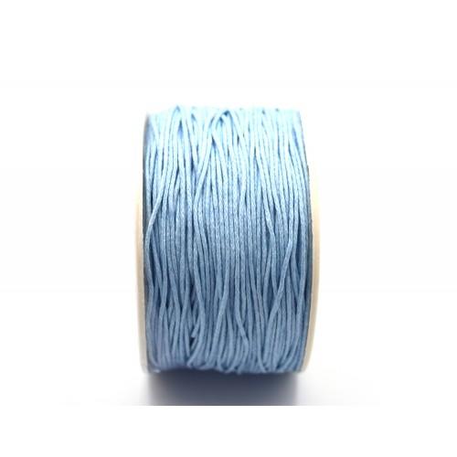 Κηρόσπαγγος βαμβακερός 1mm σε οινοπνευματί χρώμα - τιμή ανα μέτρο