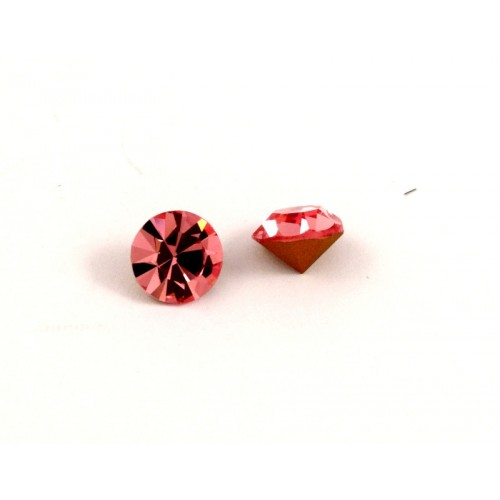 Κρυστάλλινο στρας κωνικό PRECIOSA SS39(~9mm) σε απαλό ροζ . Τιμή ανά τεμάχιο