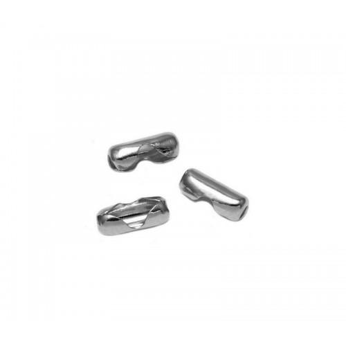 Κλείστρο για αλυσίδα με μπιλάκι (καζανάκι) 1.8mm από ατσάλι τιμή ανα τεμάχιο
