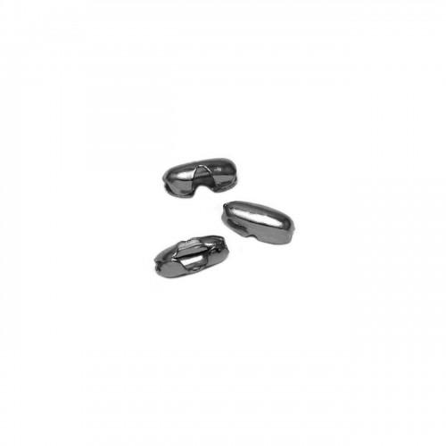 Κλείστρο για αλυσίδα μπιλάκι 1,5mm(καζανάκι) σε μαύρο χρώμα - ανά τεμάχιο